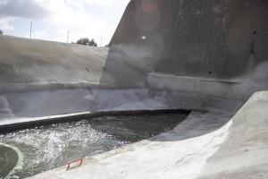 La Plataforma alerta de que sin el aporte del túnel de San Silvestre el Piedras solo tiene agua para dos meses.