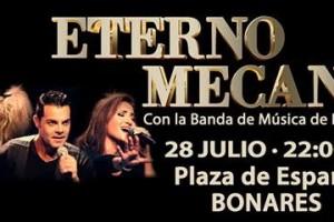 Eterno Mecano en Bonares con nuestra Banda de Música.
