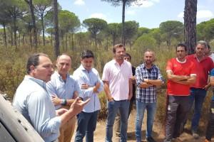 El PP exige al Gobierno que ejecute la ley del trasvase como alternativa al cierre de pozos agrícolas en Lucena.