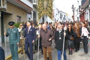 Peregrinación a Almonte de la Hermandad del Rocío de Bonares.