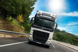 Transportes JCarrión contrata para su base de Bonares conductores de rutas internacionales