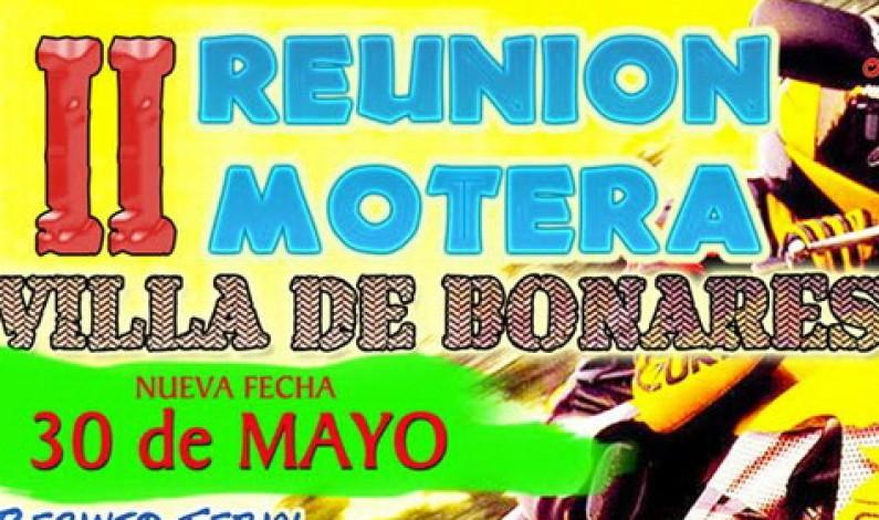 30 de Mayo, nueva fecha para la II Reunión Motera