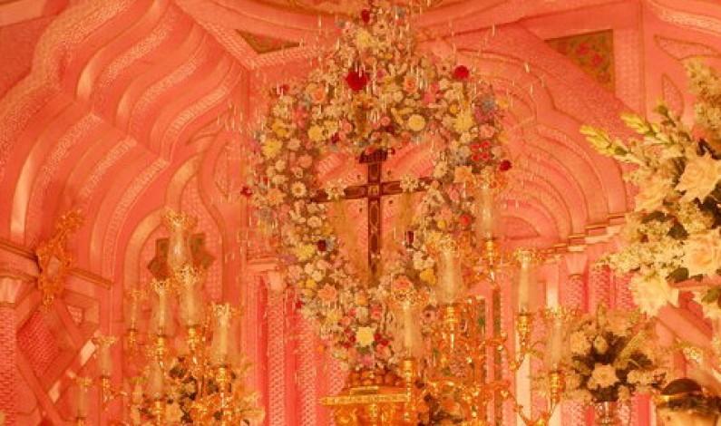 Triana abrió las puertas de su capilla.