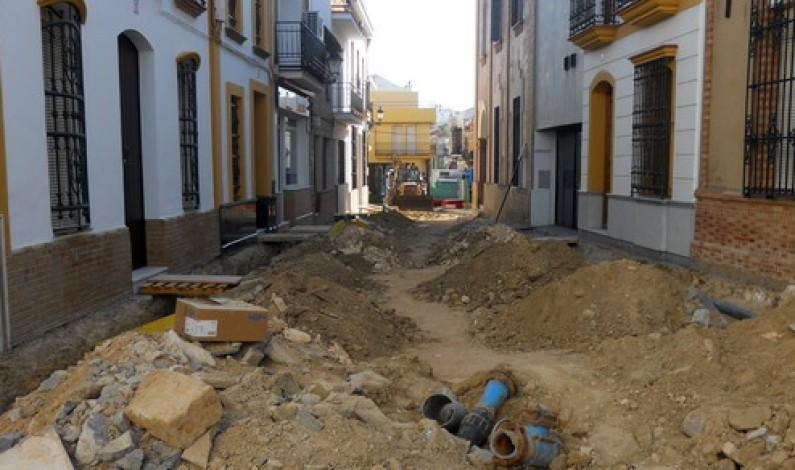 Nueva calle peatonal, Calle Cruz.