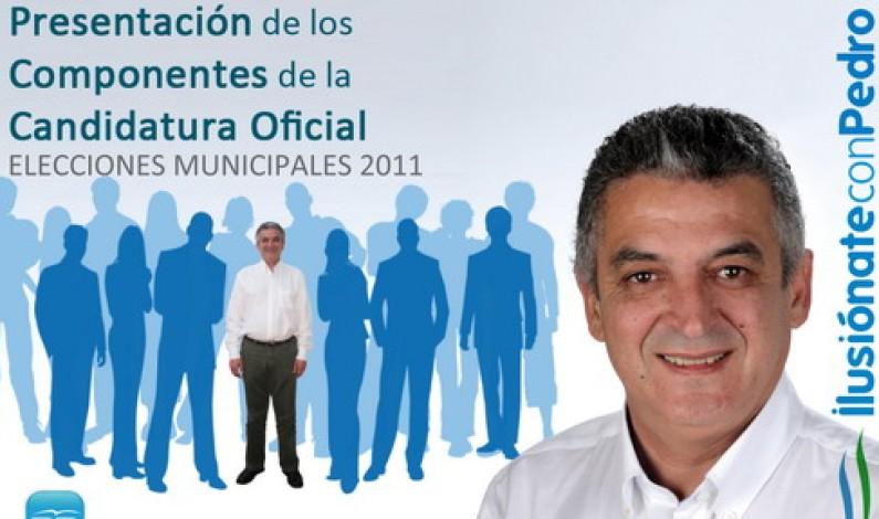 Presentación oficial de la Candidatura del PP-Bonares.