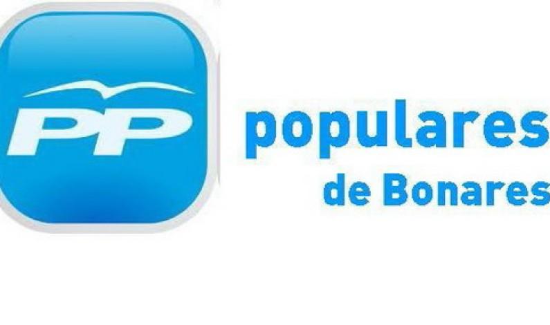 Nota PP-Bonares, Moción urgente.