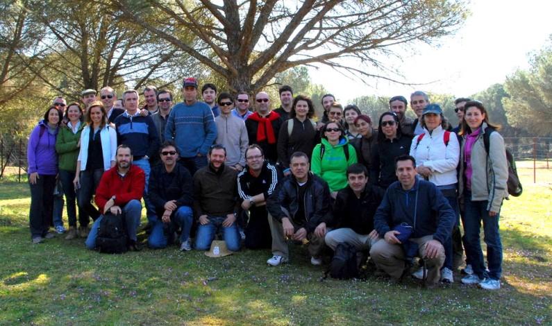 IV Camino del Instituto de Bonares para celebrar el día de Andalucía.