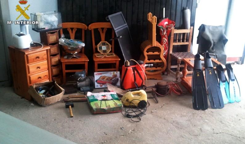 Detenidas cuatro personas cuando intentaban robar en Bonares.