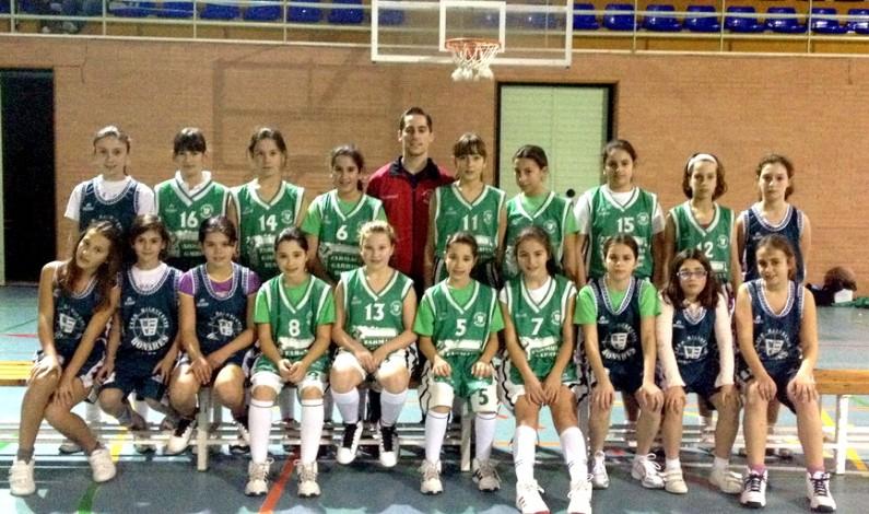 Fase final provincial mini femenino de baloncesto.