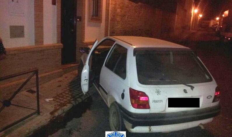 Imputado un conductor en Bonares tras un accidente de trafico.