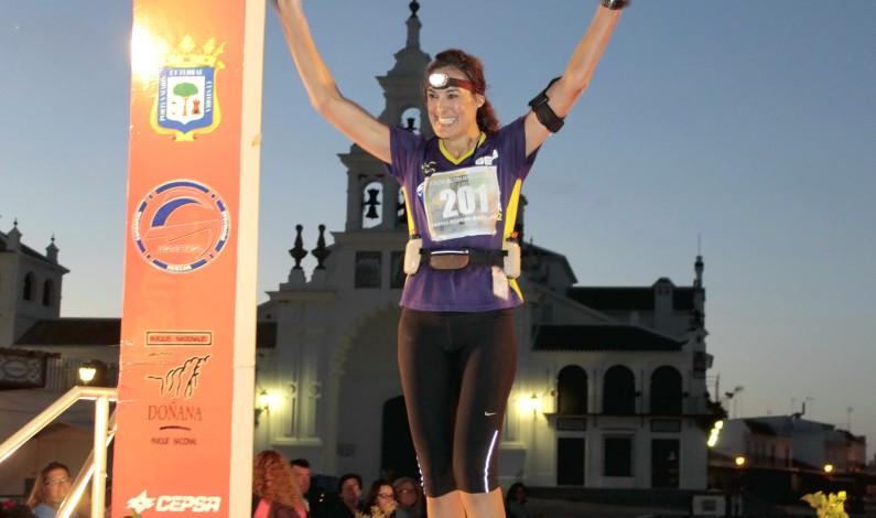 María José García se hace con el segundo puesto de la general en I Ultra Trail amanecer en Doñana.
