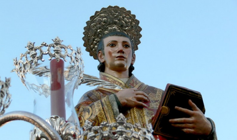 Todo preparado en Lucena para celebrar sus fiestas patronales en honor a San Vicente.