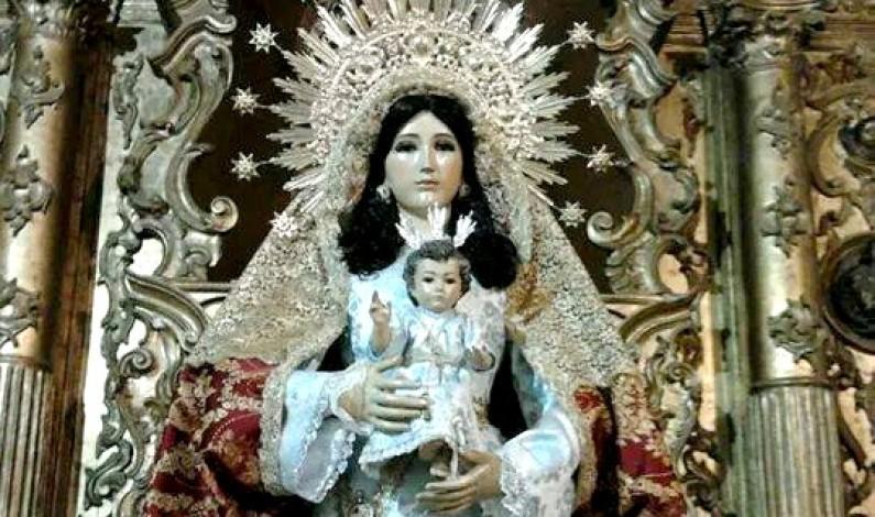 Soneto a la Virgen de la Candelaria.