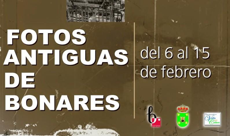 Exposición de fotografías antiguas en Bonares.