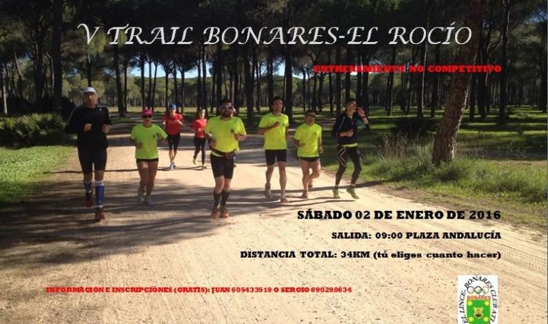 V Trail Bonares – el Rocío.