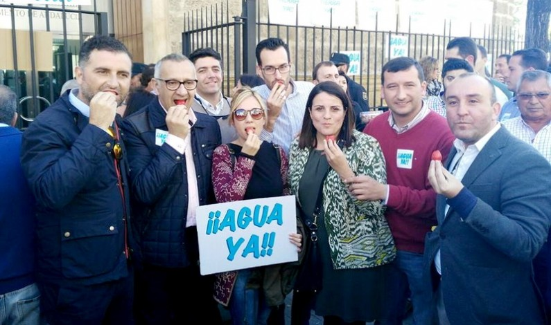 La Plataforma congrega a 17.000 personas frente al Parlamento Andaluz.
