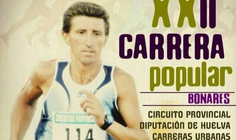 Carrera Popular de Bonares 2016 – VI Memorial Manolo Márquez.