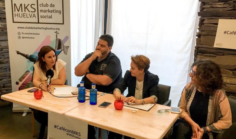 Segunda edición de #CaféconMKS organizada por el Club de Marketing Social de Huelva.