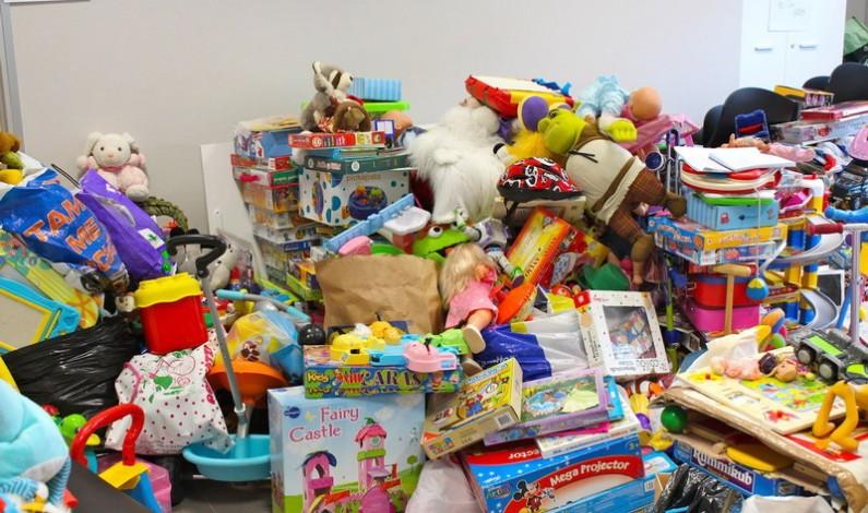 Cierre de la campaña solidaria de recogida de juguetes.