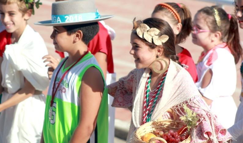 Los alumnos/as de 6º de Primaria montaron unas olimpiadas de alimentación, OLIMPYCFRUIT.
