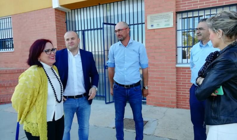 la Junta invertirá 72.000 euros en el Colegio Lora Tamayo de Bonares.