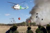 Controlado un incendio forestal en el paraje Río Tinto de Bonares