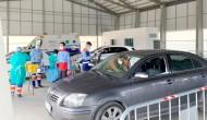 Jornada de inmunización masiva mañana al personal docente en el punto de Auto-Vacunación de Bonares.
