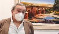 La exposición de pinturas.