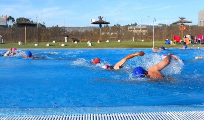 Dieron comienzo los cursos de natación en la piscina