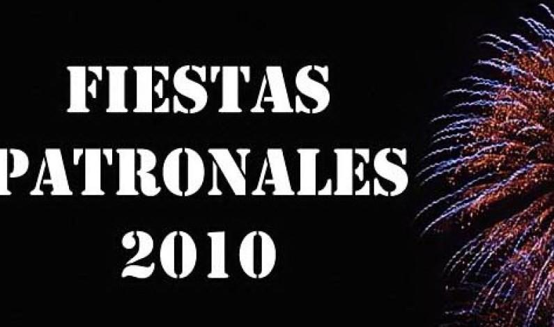 Programa de las Fiestas Patronales 2010, Fiestas en tiempos de crisis