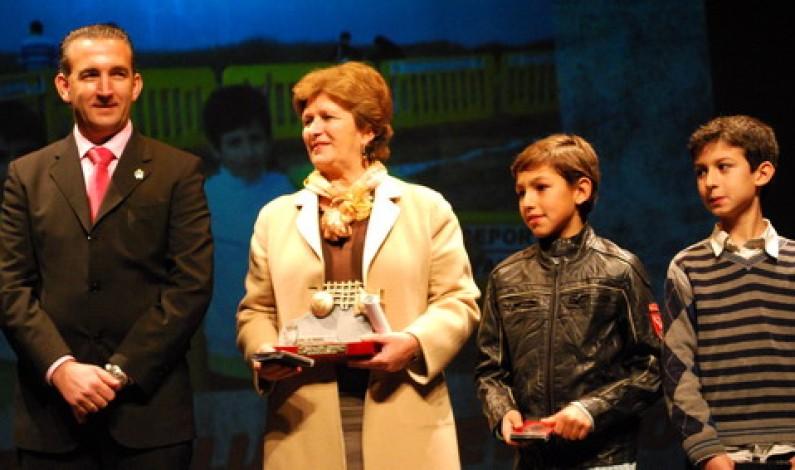 Entregados los premios del deporte del 2010.