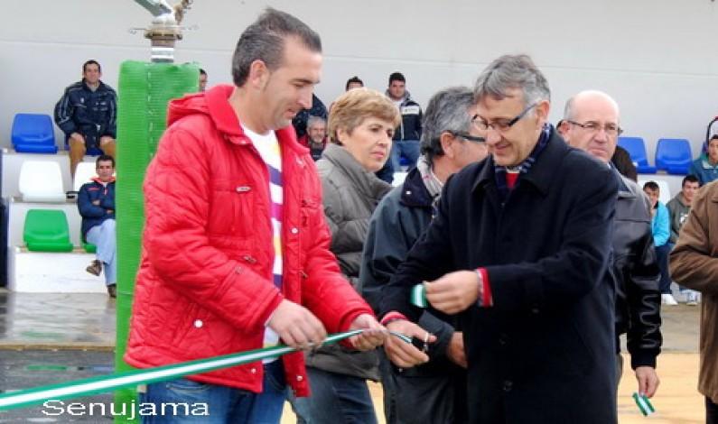 Inaugurado el Campo de césped artificial.