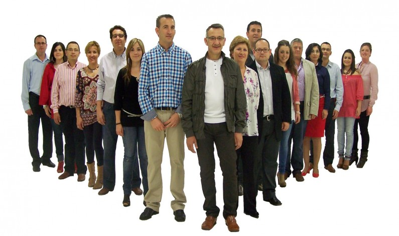 El PSOE presenta su candidatura para las próximas elecciones municipales.