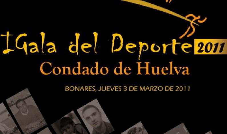 Lo más selecto del deporte del Condado se da cita en la Gala de Bonares.