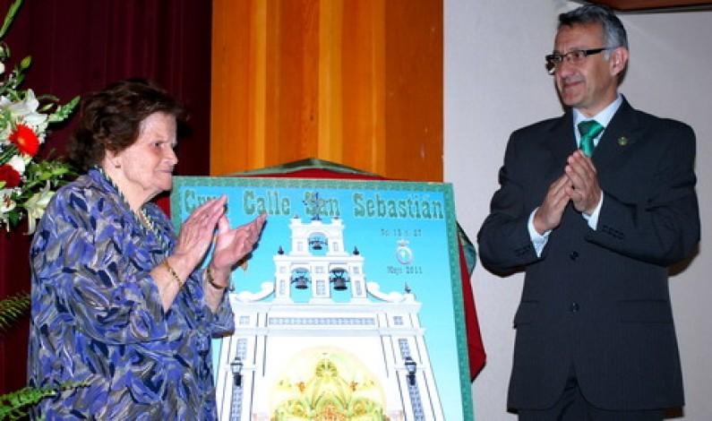 Cartel de las Cruces de Mayo de Bonares 2011.