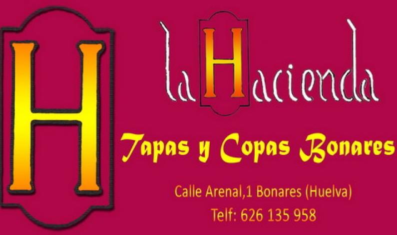 """Inaugurado el nuevo bar """"LA HACIENDA"""" tapas y copas."""