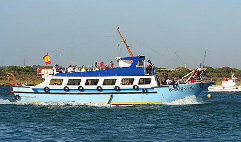Excursión en barco por la Ría de Punta Umbría.