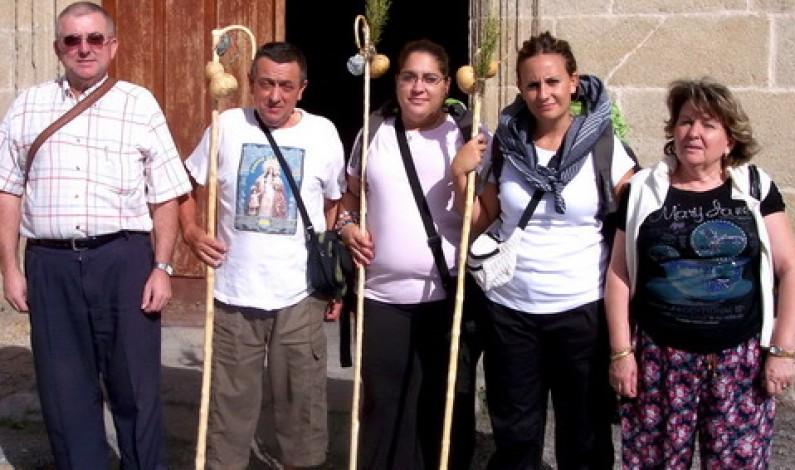 Jacinto encara las últimas etapas del Camino de Santiago.