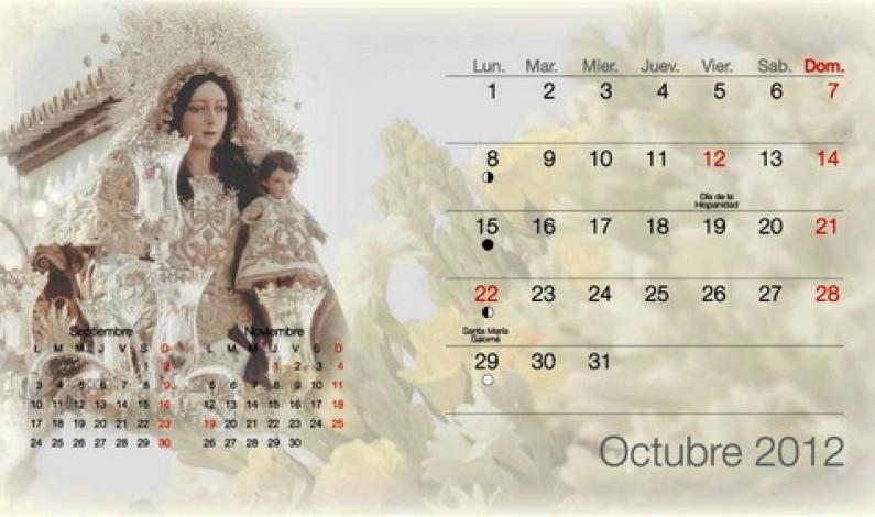 Calendario de Bonares 2012.