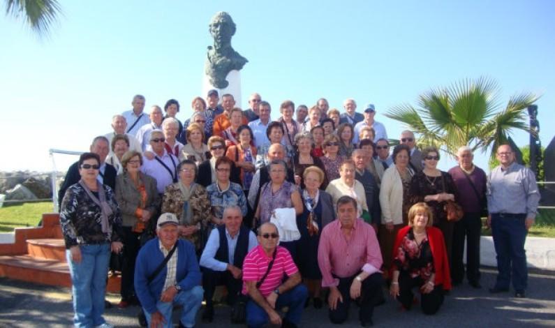 Los mayores de Bonares se benefician del Programa 'Conoce tu tierra' de la Junta