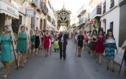 50 Años del Primer Romero de la Calle San Sebastián.(vídeo y fotos).