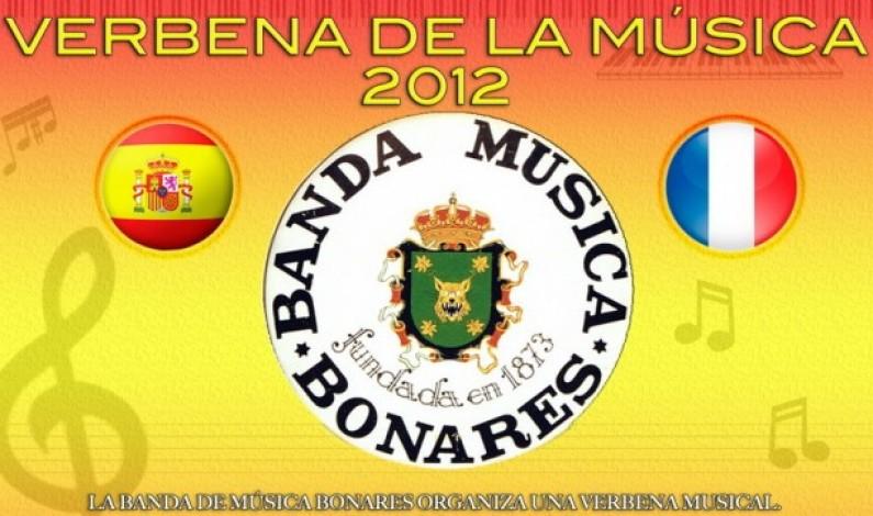 Verbena de la música en la Plaza del Pilar.