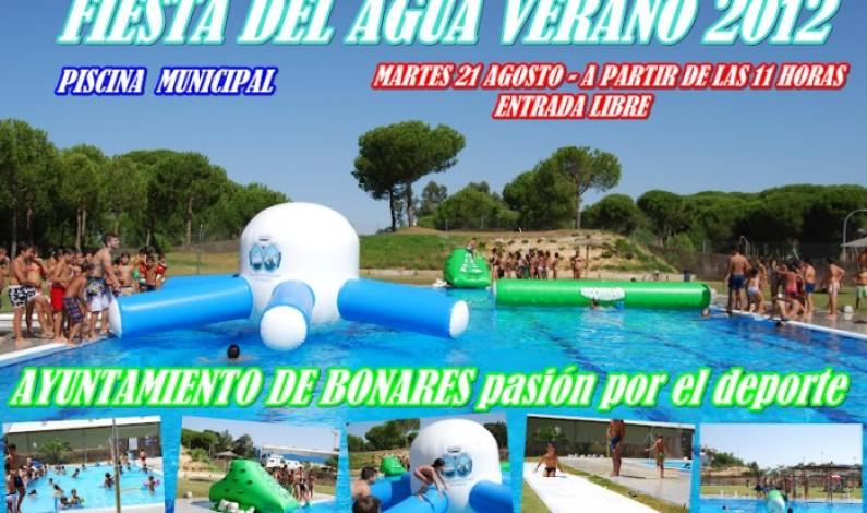 El martes 21 de agosto fiesta del Agua en la Piscina Municipal.