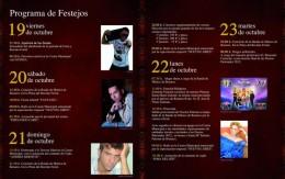 Programa de las Fiestas Patronales 2012.