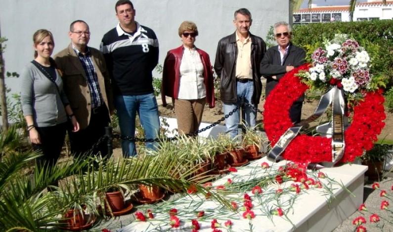 1 de noviembre desde la memoria, Homenaje a los bonariegos víctimas de la Guerra Civíl Española.