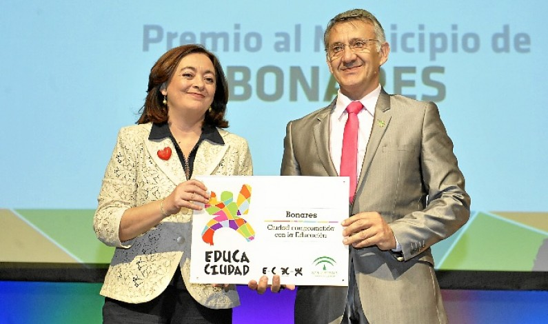 Bonares acoge la entrega de los premios Educaciudad.