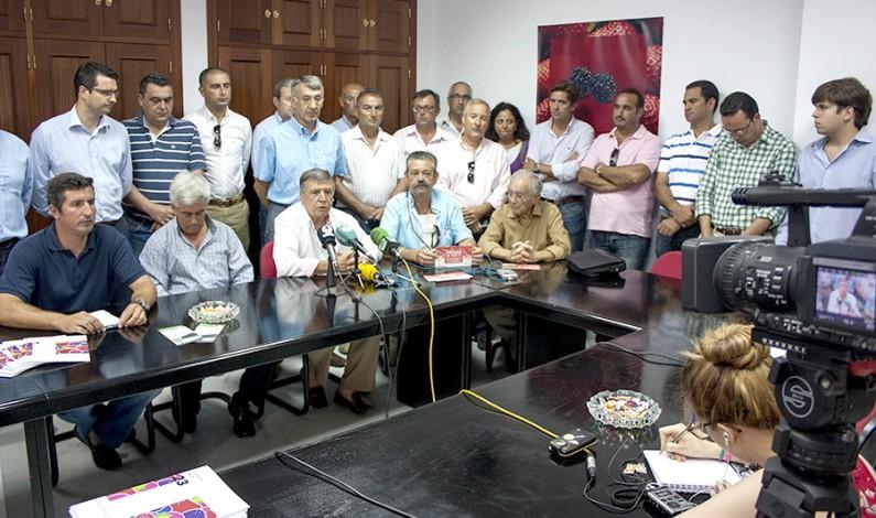 Los agricultores del Condado convocan una manifestación para el día 28 de agosto, exigen estabilidad para el regadío de la zona.