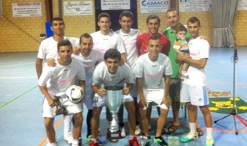 Triunfo de Cafetería la Lanza en el campeonato de verano de fútbol sala de Bonares.