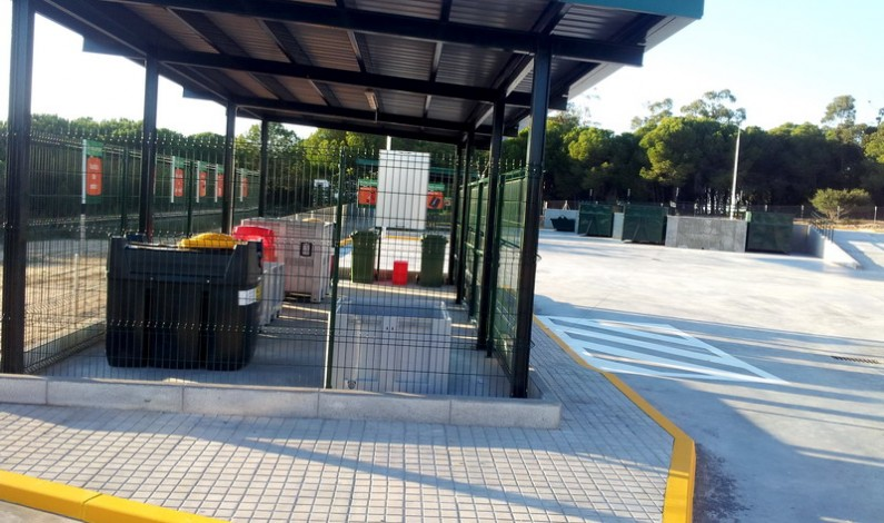 Finalizan las obras del punto limpio de residuos urbanos de Bonares.