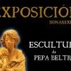 Las esculturas de Pepa Beltrán se exponen en Bonares.